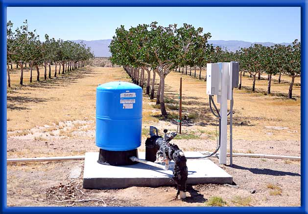 - Fresh Water and Iron Bacteria Unit in Mojave Desert
