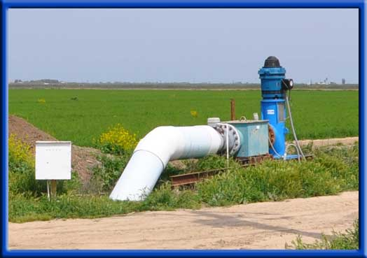 Alfalfa - Reusable tile line water lift pump